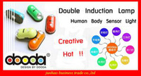 Wholesale Infrared PIR Sensor LED Light Lamp Creative Human Body Induction Motion Detector Led Sensor Light