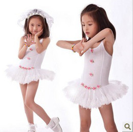 Wholesale y Years pink amp white Children ballet skirt tutu dance dress kid dress baby