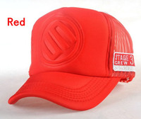 Red available trucks - STAGE D LOGO truck cap Sports caps Mesh cap Snapbacks hats colors available
