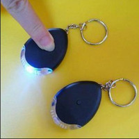 Wholesale Brand New easy Key Finder Locator Find Lost Chain Locater Whistle LED jane packaging Christmas