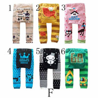 Wholesale Busha Cartoon Baby PP Pants Baby Tights Kids Leggings Infant Pants Baby Boy Girls Pants