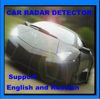 Wholesale Car Auto Radar detector support Russian and English