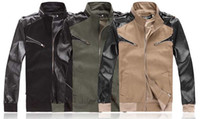 Wholesale 2012 monde Mens Jacket Hoodie Sweatshirt Sweats Standpipe collar badges Jacket coat size M L XL
