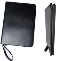Wholesale LUXURY BLACK ROLLER AND FOUNTAIN PENS CASE HOLDER BINDER METAL ZIPPER