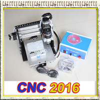 Wholesale 110V CNC CNC2016 router engraving drilling and milling machine