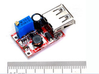 Wholesale New Solar Boost Step Up USB Standard DC DC V V Adjustable Power Supply Module Free Ship