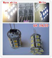 High Quality G4 Led Lamp AC DC 12V 24SMD Led 5050SMD G4 Bulb...