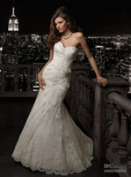 maternity wedding dresses - 2014 Maternity Bridal Gown Wedding Dresses Sweetheart Applique Lace Ankle Length Handmade Flower Custom Made