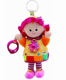 Wholesale Lamaze Play amp Grow My Friend Emily Take Along Toy Baby Early Development Plush Toys Baby Girl Favorite Plush Toy Fast Shipping