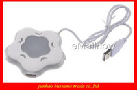 Wholesale Sample order Cute Little Ports PC Computer USB Hub High Speed Flower Shape Chainging Color