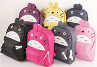 Wholesale Children Pro Sport Cartoon colourful bag canvas rucksack backpack School bag messenger strap bag