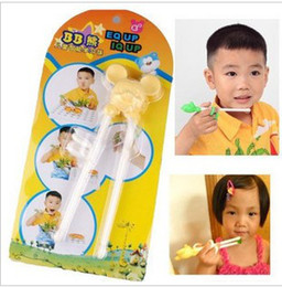Wholesale Intellectual development child chopsticks learning chopsticks training chopsticks practice