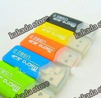 Wholesale Hot Selling USB Micro SD Card Reader for TF T Flash Memory Card Micro SD