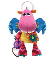 Wholesale Lamaze Early Development Toy Dee Dee the Dragon Early Educational Gift Toys Multicolors Shows
