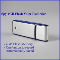Wholesale USB Spy Ear Voice Recorder GB Flash Drive Memory Stick