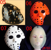 Wholesale Halloween Mask Jason vs Freddy Mask Props Ghost Mask Horror Halloween Mask Festival Mask F