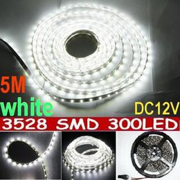 20m White LED Strip Light non Waterproof 60led m SMD 3528 Flexible led strip 5M 300LED Garden Home