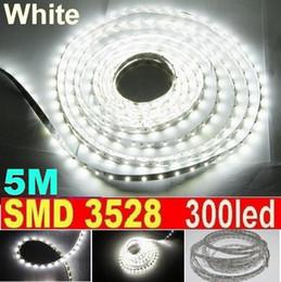 30m LED Strip Light White non Waterproof 60led m SMD 3528 Flexible led strip 5M 300LED Garden Home