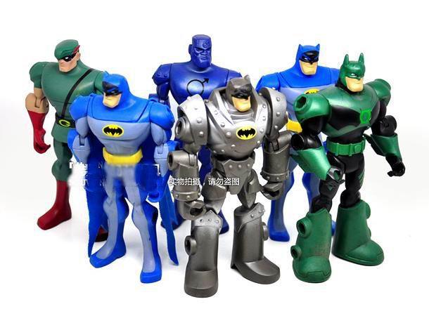 Best Super Hero Toys And Action Figures : Cartoon superhero inch pvc batman figure toy anime