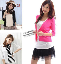 Wholesale New Fashion Women s Pearl Button V neck Sweaters Cardigan colors