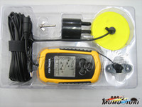 Wholesale 1pcs Portable Sonar LCD Fish depth Finder Alarm M AP Electronic fish finder