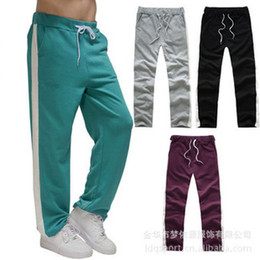 Wholesale 2012 New Korean Men s Casual Pants Sports Leisure Pants Couple Trousers Cotton Plus Size MYY1