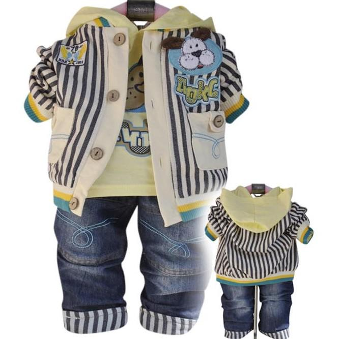 Boy Baby Clothes New Fashions Infant Three-piece Suit ...