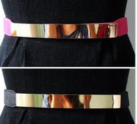 Wholesale European golden mirror slim belt wholesales
