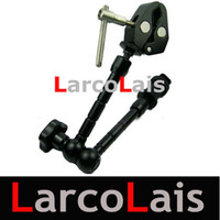 """Wholesale Cameras Rig Lcd Monitor - 11"""" Articulating Magic Arm 1 4"""" 3 8"""" Super Clamp for Camera Camcoder LCD Monitor LED Light DSLR Rig"""