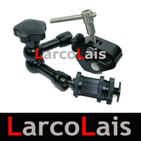 Wholesale 7 Inch Articulating Magic Arm amp Super Clamp for Camera DV LCD Monitor LED light Shoemount DSLR Rig