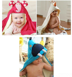 Wholesale NEW designs bath towel Baby bathrobe robe Infant terry bath towels robes baby bathing sunny dzyzsz