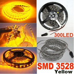 40m SMD 3528 60led m LED Strip Light Waterproof Yellow Flexible LED strip 5M 300LED for Garden Party