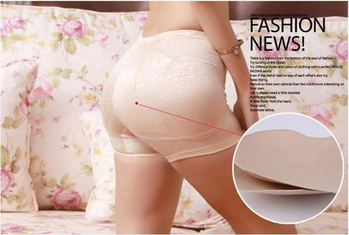 Sexy Lady Butt Hip Enhancer Sexy Padded Seamless Shape and Fitness Panties Body Shaping Underwear
