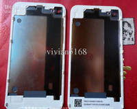 Wholesale Hot Sale Back Glass Battery Cover Back Housing for iphone S GS IOS4 BLACK Housing Assembly set A