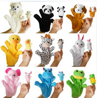 Stuffed Foam 5-7 Years Children's best toy finger toys to tell the vivid story in the forest finger toys mother and baby