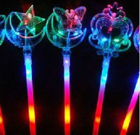 Changing light stick wand light sticks Flash stick magic wan...