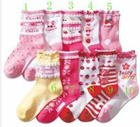 Wholesale 2012 fashion new socks girl s cotton socks lace socks floor socks