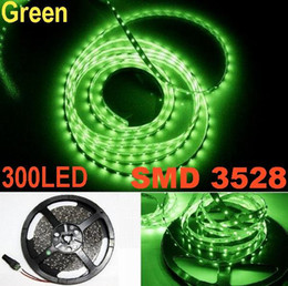 LED Strip Light non-waterproof SMD 3528 Flexible Green LED Strips 300LED DC12V Party home CERoHS 20m