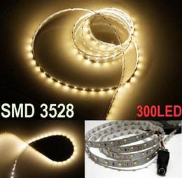 5M 300LED LED Strip Light Warm White non Waterproof 60led m SMD 3528 Flexible led strip home Garden