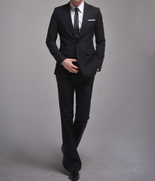 Wholesale men s suits jacket pants slim Korea wedding dresses groom suits men s suits