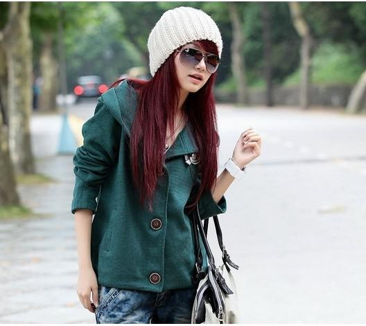 Fashion Super Cute Women's Hoodie long sleeve clothing sport leisure