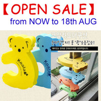 Wholesale 3 Door Stopper Baby Infant Care Protector Cute Cartoon Doorstop Door Stop