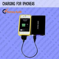 Wholesale iOCTOPUS mAh external mini USB power bank for iphone4S ipad mobile phone PSP GPS Digital Cam