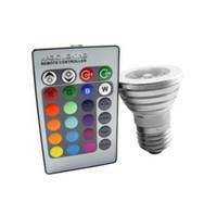 Wholesale E023 Magic Lighting LED Light Bulb And Remote With Different Colors