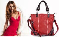 china wholesale handbags - China brand fashion handbag sexy popular handbag red brown two colour lady handbag we only want one