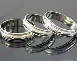 100pcs lot MIX Size 5MM Wide Metal Color Spin Spinning Arc Copper Transport Ring Rings Band Rings