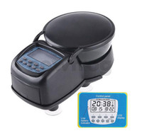 Wholesale New Arrivals Auto Digital Automatic Aquarium Timer Fish Tank Pond Food Feeder Feeding Black