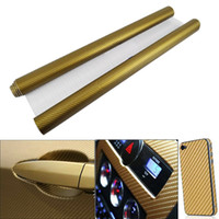 Wholesale 3D Diagonal Carbon Fiber Vinyl Film Sheet quot x quot Twill Weave Cell Phone Car Mirror Truck Sticker