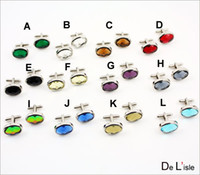 Wholesale Sale value of multi faceted cut crystal cufflinks cuff nails Series color