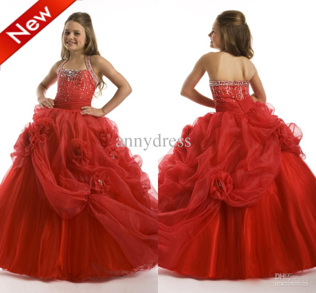 Red Girls Dresses - Cocktail Dresses 2016